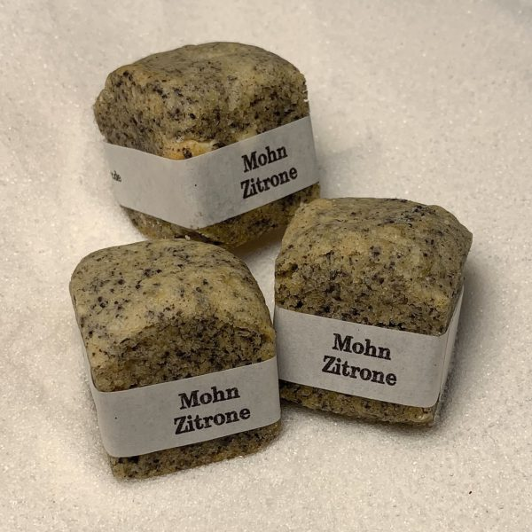 Cookie Cube Mohn Zitrone