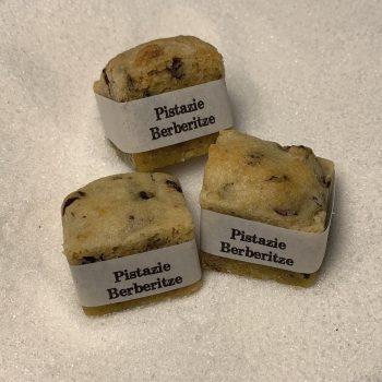 Cookie Cube Pistazie Berberitze