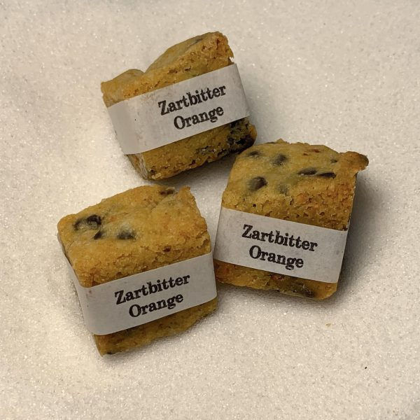 Cookie Cube Zartbitter Orange