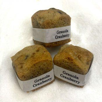 Cookie Cube Granola Cranberry