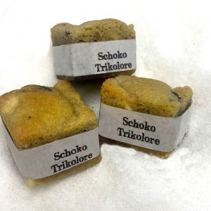 Cookie Cube Schoko Trikolore